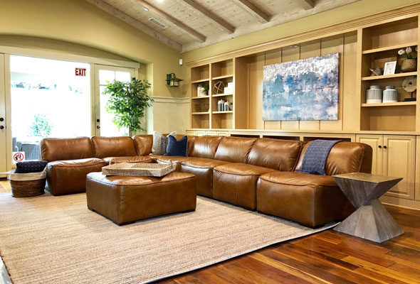 Ramona House Outpatient Center - Living Room